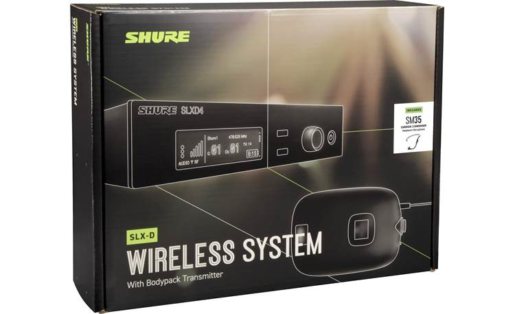 Shure SLXD14/SM35-G58 Other
