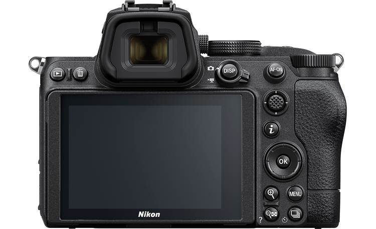 Nikon Z 5 Telephoto Zoom Lens Kit Rear-panel controls and tilting LCD touchscreen