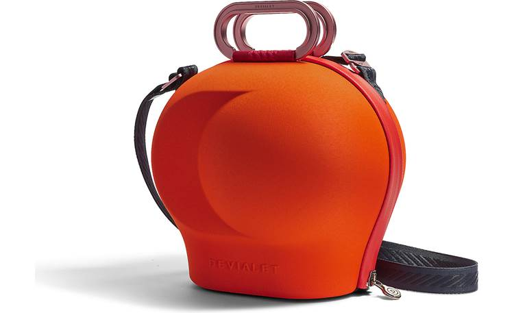 Devialet Cocoon Handles and non-slip shoulder strap