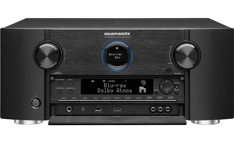 Marantz SR7015 (2020 model) Shown with front panel open