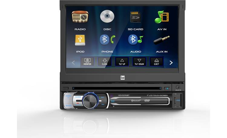 Dual XDVD176BT Add a touchscreen to a smaller dash opening with the Dual XDVD176BT