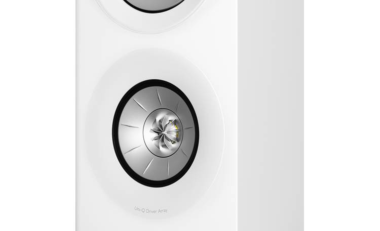 KEF R7 Uni-Q driver array includes a tweeter mounted inside a midrange woofer