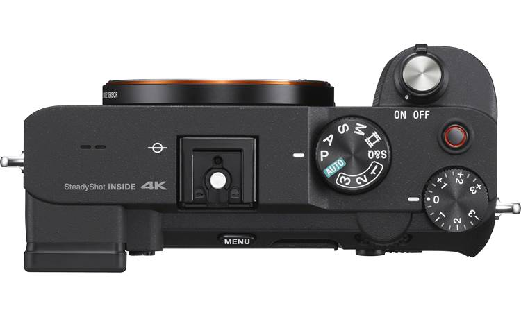 Sony Alpha 7C (no lens included) Top-panel controls