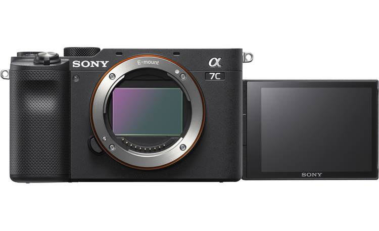 Sony Alpha 7C (no lens included) The rotating LCD screen is ideal for vlogging
