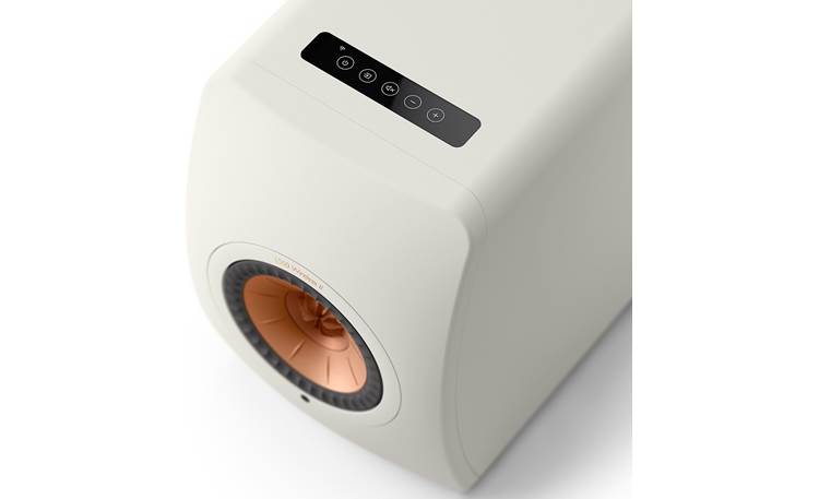 KEF LS50 Wireless II Convenient control buttons