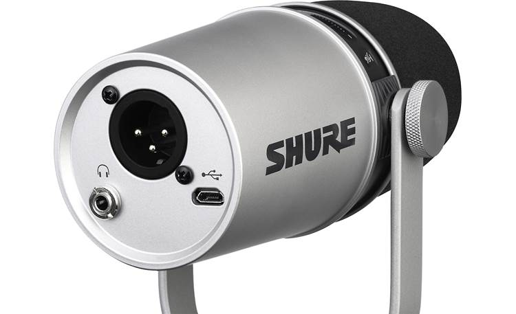 Shure MV7 Left rear
