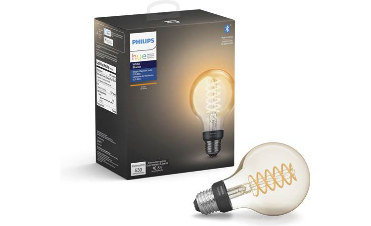 Philips Hue Filament Bulb E26 base with rounded Globe design