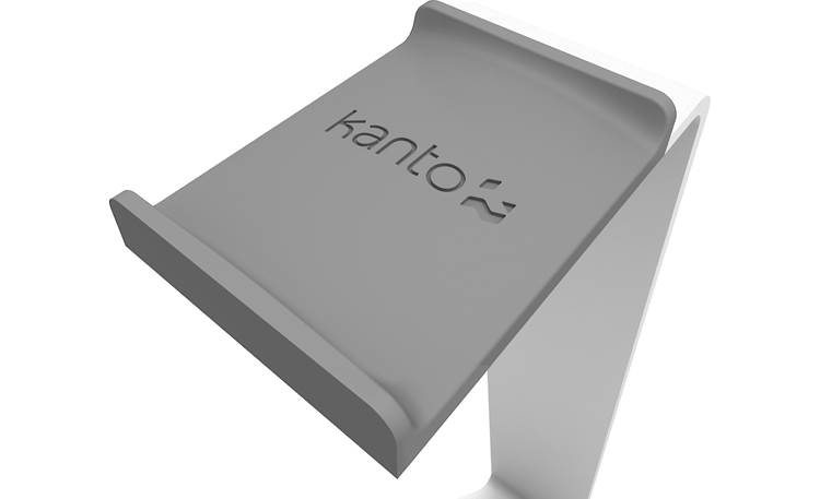 Kanto H1 Close-up of soft-touch headband cradle