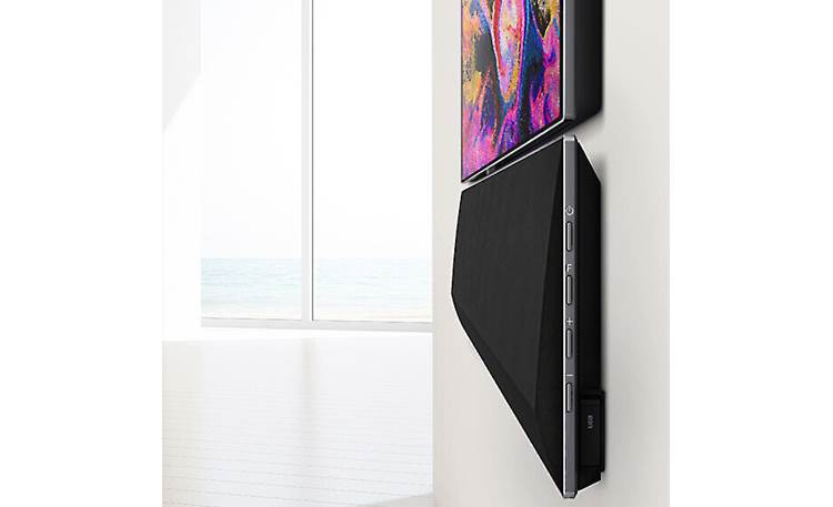 LG GX Sound bar's slim profile matches LG's OLED Gallery TVs