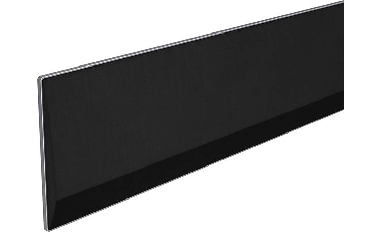LG GX Close-up of sound bar (left)