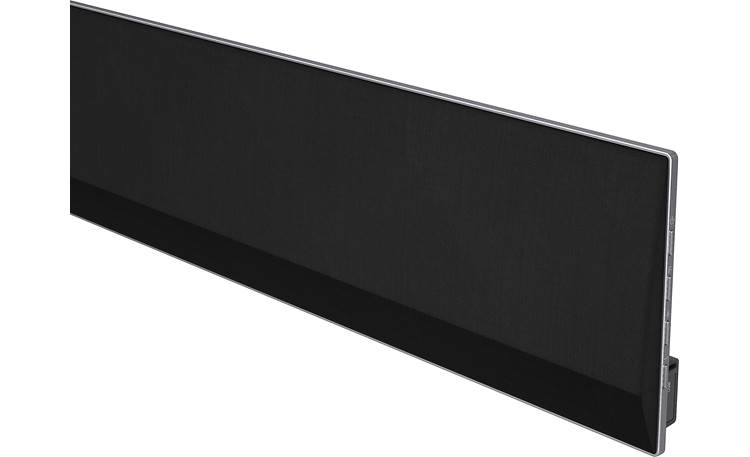 LG GX Close-up of sound bar (right)