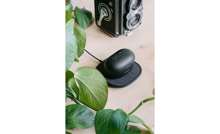Grado GT220 wireless charging available with compatible Qi chargers (not included)