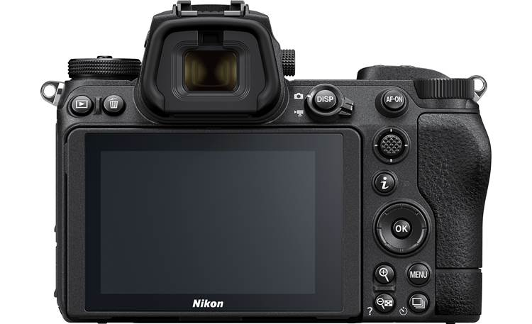 "Nikon Z 7II Zoom Lens Kit 3.2"" tilting LCD touchscreen for intuitive composition and review"