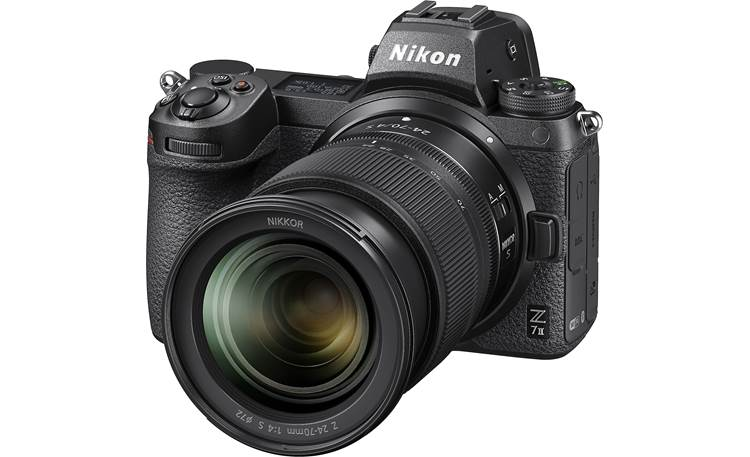 Nikon Z 7II Zoom Lens Kit Shown with included 24-70mm f/4 zoom lens