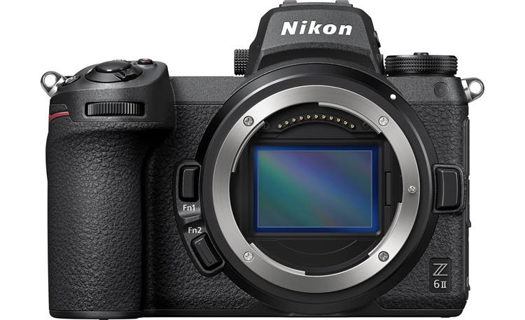 Nikon Z 6II (no lens included) Full-frame CMOS image sensor for gorgeous photos and 4K videos