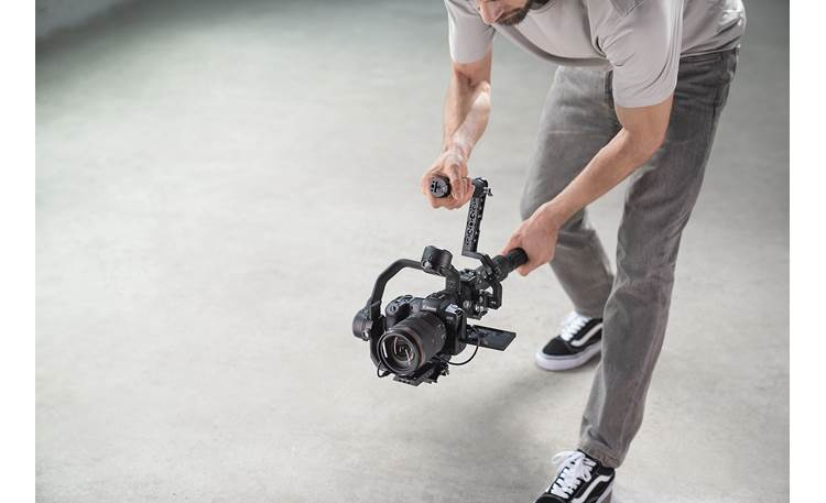 DJI Ronin RSC 2 Shown in use (camera not included)
