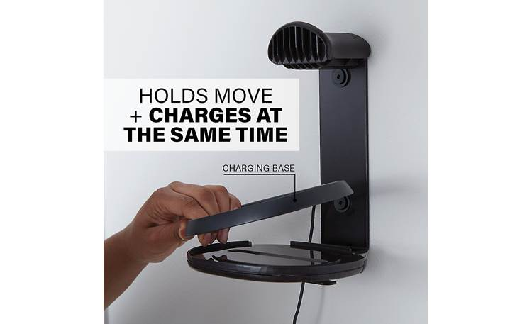 Sanus WSSMM1 Accomodates Move charging base (not included)
