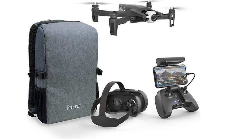Parrot ANAFI FPV Front (shown with included accessories)