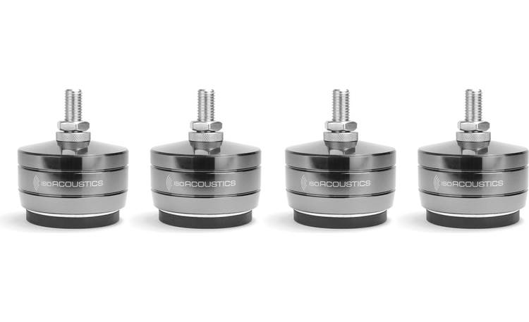 IsoAcoustics GAIA-TITAN Theis 4-pack of isolation feet for improved musical performance with large floor-standing speakers