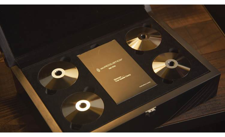 IsoAcoustics GAIA-TITAN Theis Shown in box