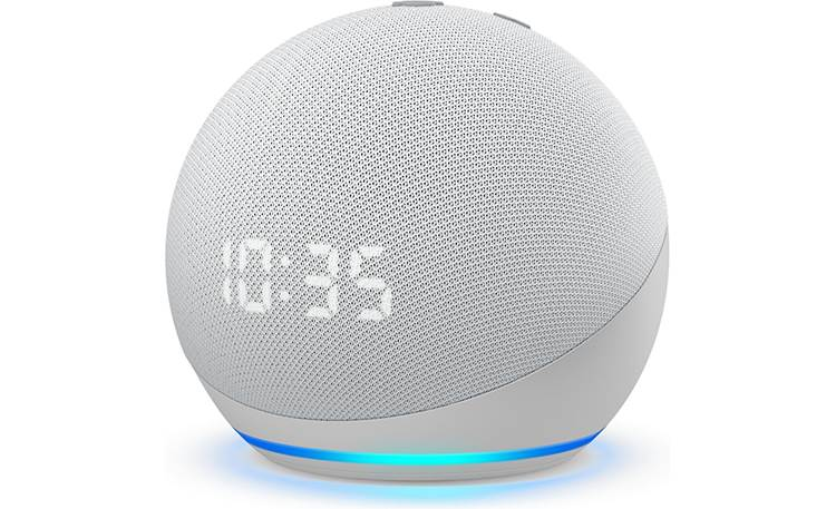 Amazon Echo Dot with Clock (4th Generation) Front