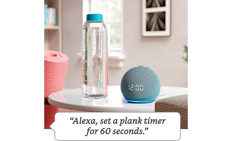 Amazon Echo Dot with Clock (4th Generation) Set reminders