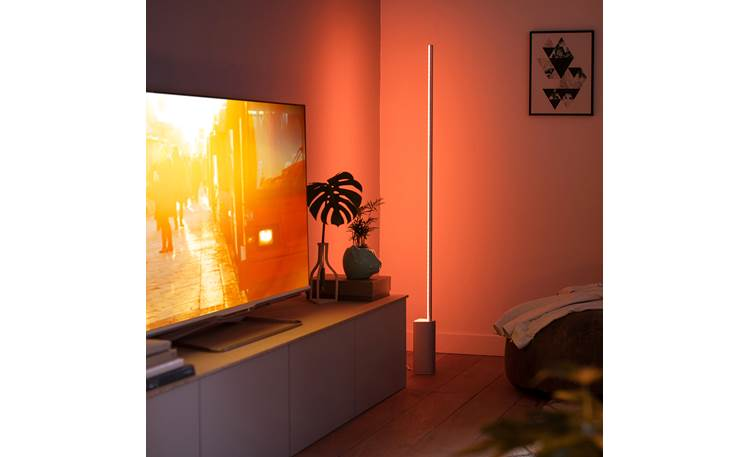 Philips Hue White and Color Ambiance Signe Floor Light Front