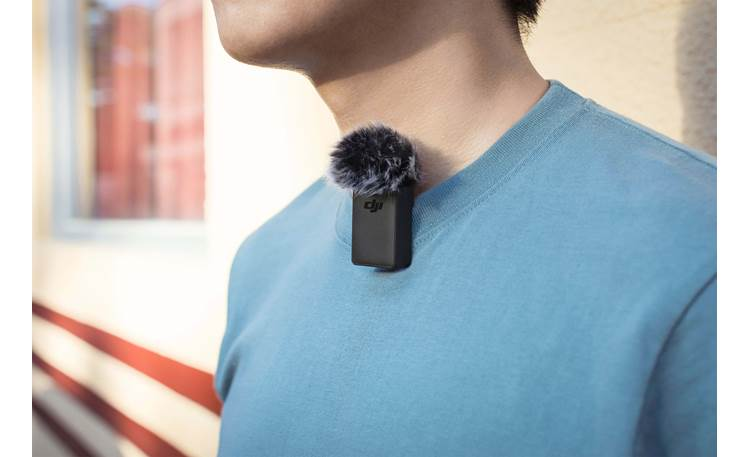 DJI Pocket 2 Wireless Microphone Transmitter Can be clipped to subject's clothing