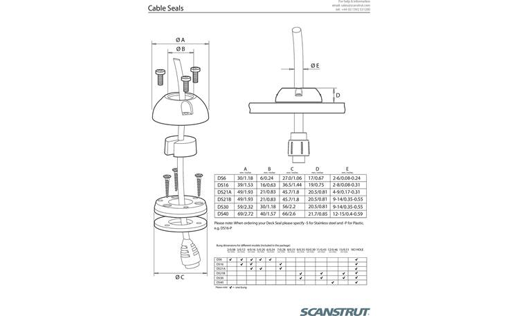 Scanstrut DS21A-S Other