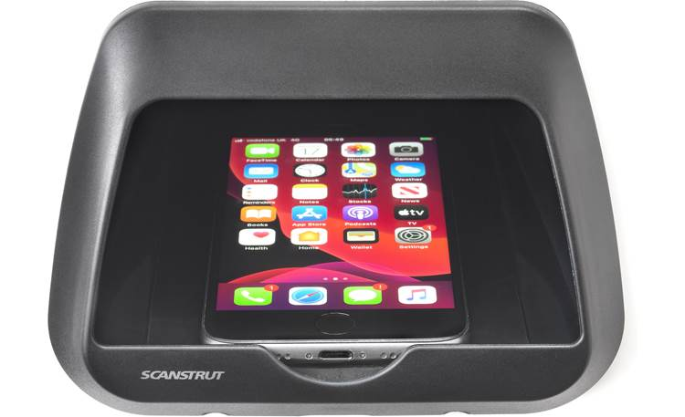 Scanstrut ROKK Nest Qi charging pocket Front (phone not included)