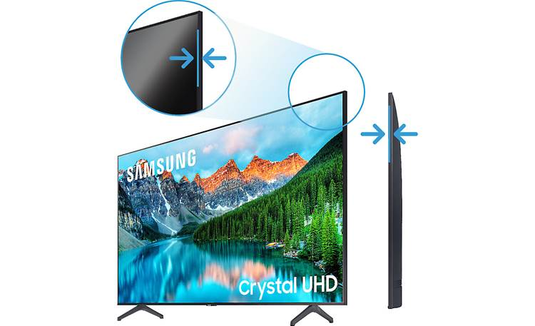 Samsung BE55T-H Pro TV Slim bezel for sleek look