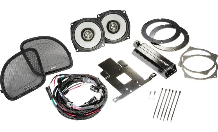Kicker 46HDR154 Harley-Davidson audio kit