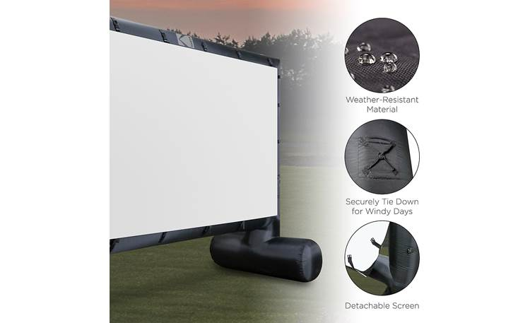 Kodak Inflatable Projector Screen Other