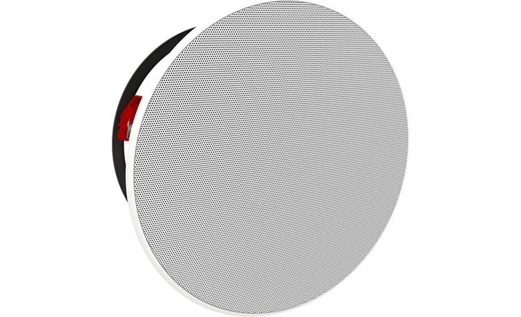Bowers & Wilkins Reference Series CCM7.5 S2 Angled view with paintable magnetic grille in place