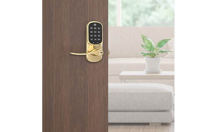 Yale Real Living Assure Lever Keypad Lock (YRL216) with Wi-Fi Module Monitor, lock, and unlock from wherever you are