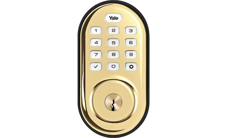 Yale Real Living Assure Lock Keypad Deadbolt (YRD216) with Z-Wave® Front