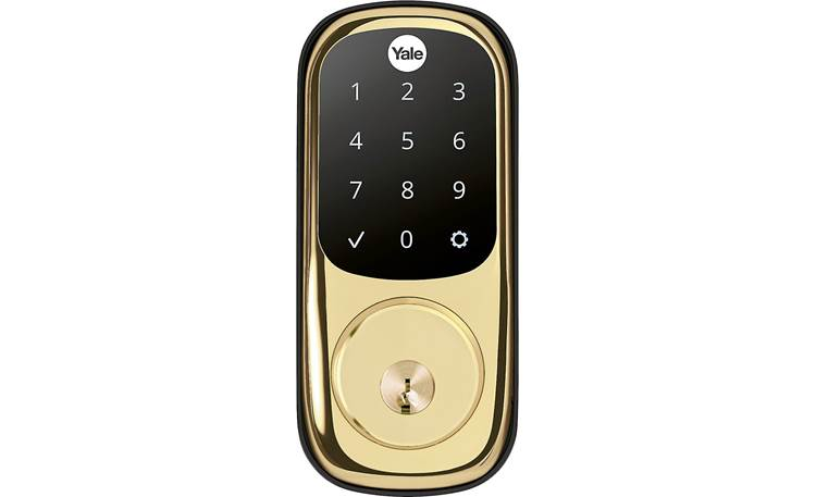 Yale Real Living Assure Lock Touchscreen Deadbolt (YRD226) Front