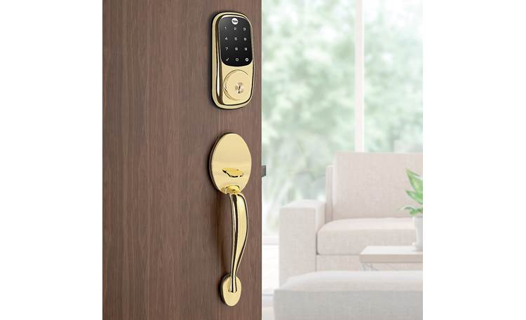 Yale Real Living Assure Lock Touchscreen Deadbolt (YRD226) with Z-Wave® Z-Wave module allows smart home integration