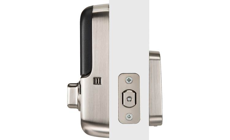 "Yale Real Living Assure Lock SL Key-free Touchscreen Deadbolt (YRD256) with Wi-Fi Module Powered by 4 ""AA"" batteries"