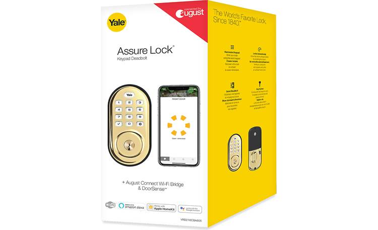 Yale Real Living Assure Lock Keypad Deadbolt (YRD216) with Wi-Fi Module Other