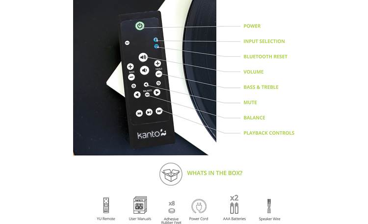 Kanto YU Remote included