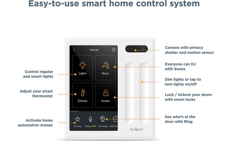 Brilliant Smart Home Control Other