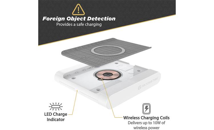 Scosche BaseLynx™ Wireless Charging Pad Foreign object detector
