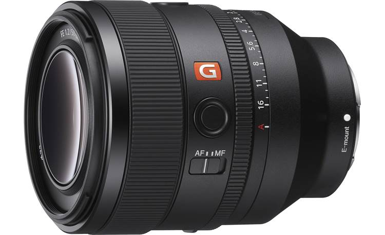 Sony FE 50mm f/1.2 GM Shown with lens hood removed