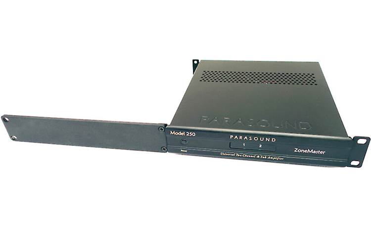 Parasound ZRK Mount a single Zcustom component in a single 1U rack space