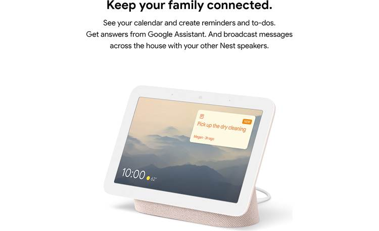 Google Nest Hub (2nd gen) Connect to other Google Assistant devices