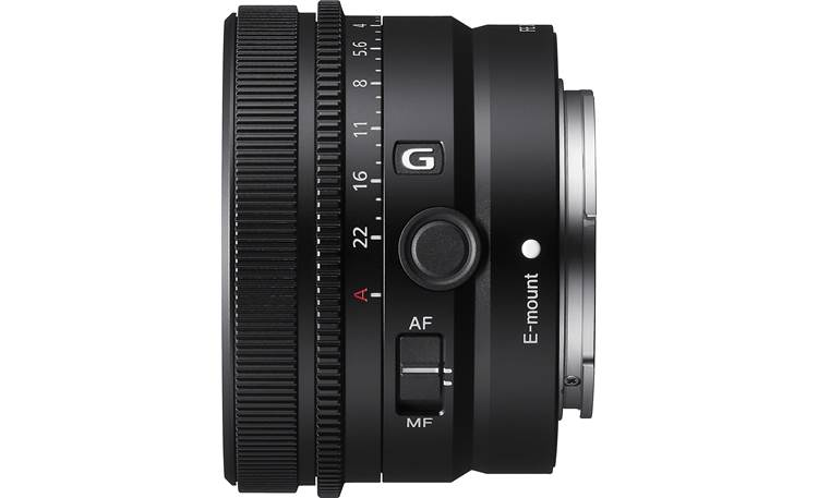 Sony FE 40mm f/2.5 G Customizable focus hold button