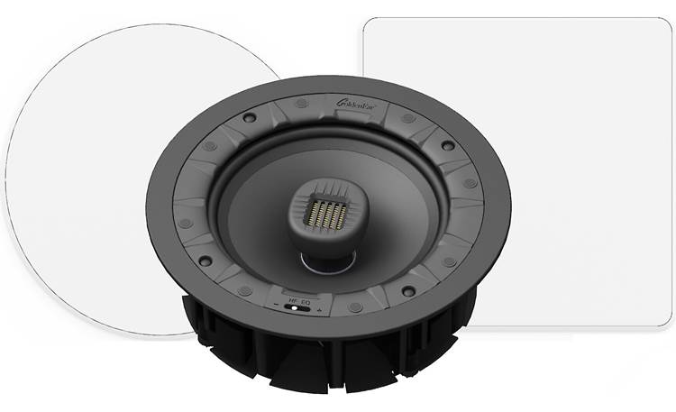 GoldenEar Invisa 650 Shown with included round and optional square grilles