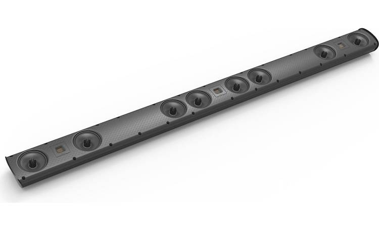 GoldenEar SuperCinema® 3D Array® XL Sound bar has fully discrete speaker channels