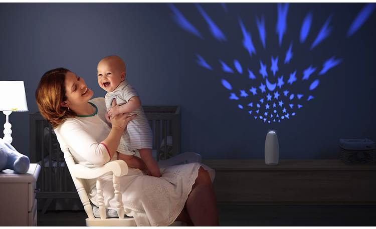 Airfree Babyair Top of unit is a fun nightlight